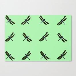 Battimamzelle Design - Mint Green Canvas Print