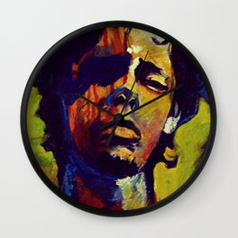 Portrait * Darren Le Gallo Wall Clock