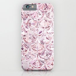 Berry Frosting Art Deco Pattern  iPhone Case