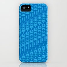 Video Game Controllers - Blue iPhone (5, 5s) Slim Case