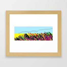Landscape ing Framed Art Print
