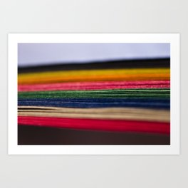color papers Art Print
