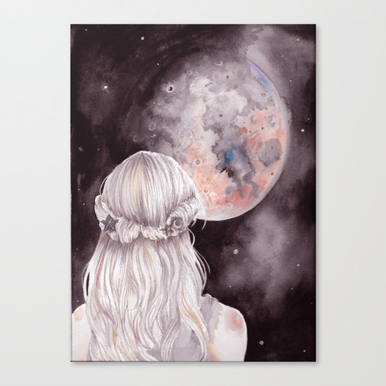 Moon Child Canvas Print
