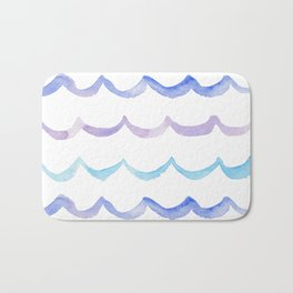 Life is Swell - Ombre Waves Bath Mat