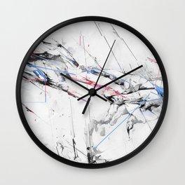 Marble hands art Wall Clock