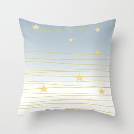 Christmas Sky #society6 #decor #buyart Throw Pillow