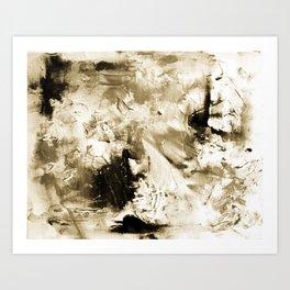 Vintage Abstract Art Print