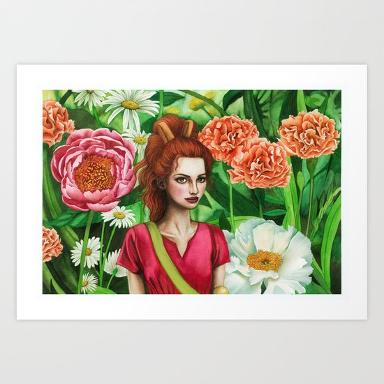 The Borrower Arrietty Art Print