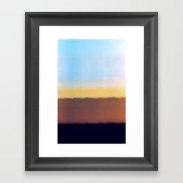I found the end Framed Art Print