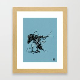 squirm Framed Art Print