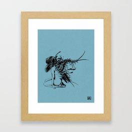 squirm Framed Art Print