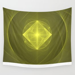 Gazing into the Eye of the Pyramid Wall Tapestry