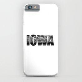 Iowa iPhone Case