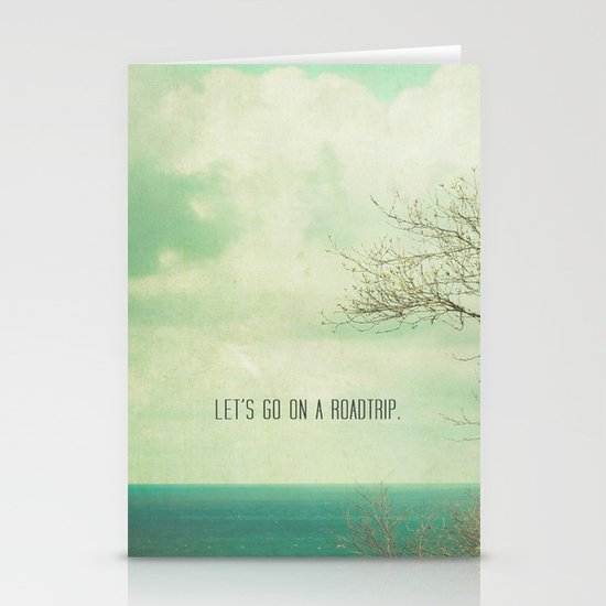 Let's Take a Roadtrip Stationery Cards