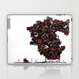 The chattering class  -alt Laptop & iPad Skin