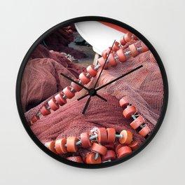 Fishing tools Wall Clock