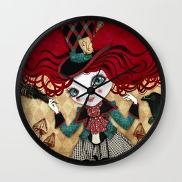 Mad Riddle Wall Clock