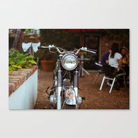 moto Canvas Prints featuring Moto by Davin Fitch
