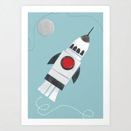 Spaceflight Art Print