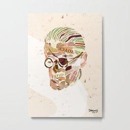 James Joyce Metal Print