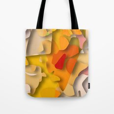 red spot Tote Bag