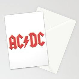 AC-DC Stationery Cards
