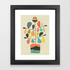 Potted Plant 4 Framed Art Print