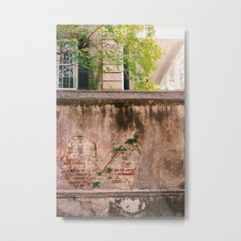 Charleston Walls VIII Metal Print