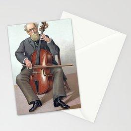 violoncelliste musicien Stationery Cards
