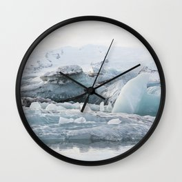 Tip Of The Iceberg VI Wall Clock