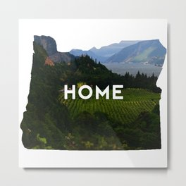 Oregon Home Metal Print