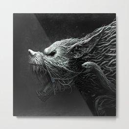 Wolf Monster Metal Print
