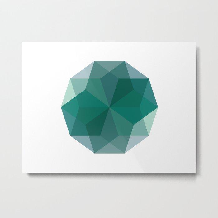 Shapes 011 Metal Print