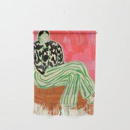 CALM WOMAN PORTRAIT Wall Hanging