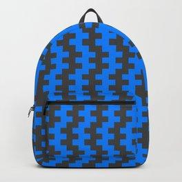 Stripe Dancer Blue Backpack