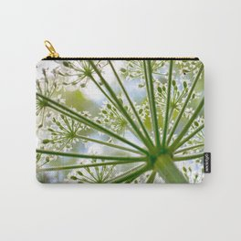 Delicate cow parsley Carry-All Pouch