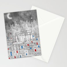 Berlin by night Stationery Cards