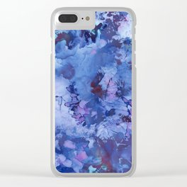 Abstract Alcohol Ink Painting 3 Clear iPhone Case