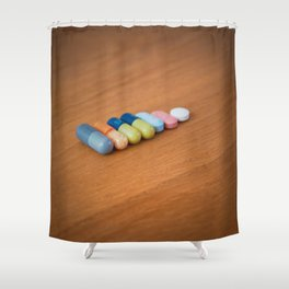 Daily Dose Shower Curtain