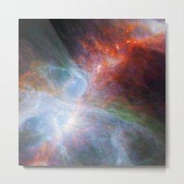 Baby Stars in Orion Nebula Metal Print