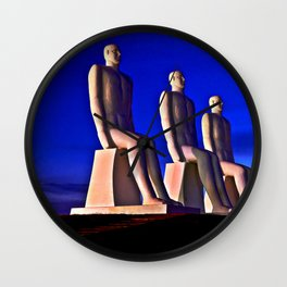 MAN AT SEA Wall Clock