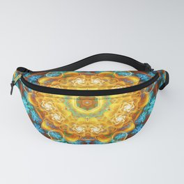 Mandalas from the Depth of Love 14 Fanny Pack