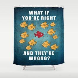 Fargo Fish Shower Curtain