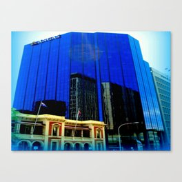 Reflections - Adelaide CBD Canvas Print