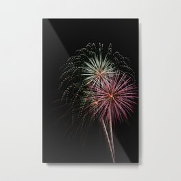 Firework 2 Metal Print