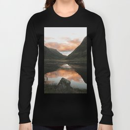 Time Is Precious - Landscape Photography Long Sleeve T-shirt