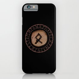 Othala Rune ancestral property, one's homeland or a sense of physical, mental, emotional, spiritual iPhone Case