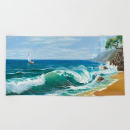 Crimea Beach Towel