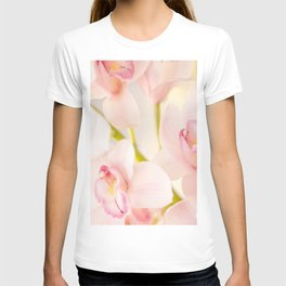 Orchid Flower Bouquet On A Light Background #decor #society6 #homedecor T-shirt