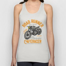 Classic CafeRacer Road King Unisex Tank Top